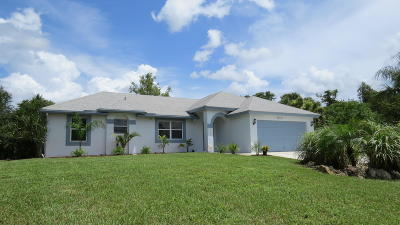 Loxahatchee Single Family Home For Sale: 15171 74th Street