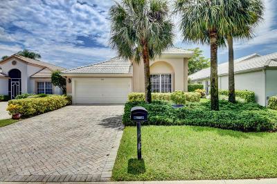 Boynton Beach Single Family Home For Sale: 11836 Fountainside Circle