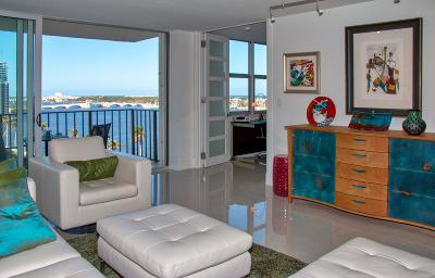 West Palm Beach Condo For Sale: 1801 S Flagler Drive #1205