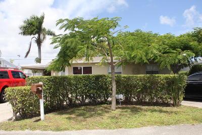 West Palm Beach Single Family Home For Sale: 2029 Wellington Road