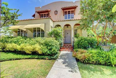 Lake Worth Single Family Home For Sale: 307 Dartmouth Drive