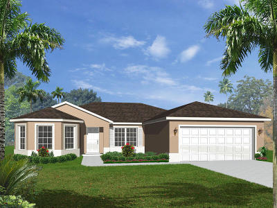 Port Saint Lucie Single Family Home For Sale: Tbd SW Butler Avenue