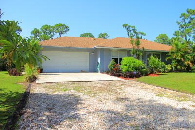 West Palm Beach Single Family Home For Sale: 12176 86th Road