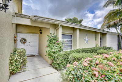 Boca Raton Single Family Home Contingent: 22379 Greentree Circle