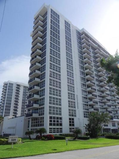 Pompano Beach Condo For Sale: 531 Ocean Boulevard #1102