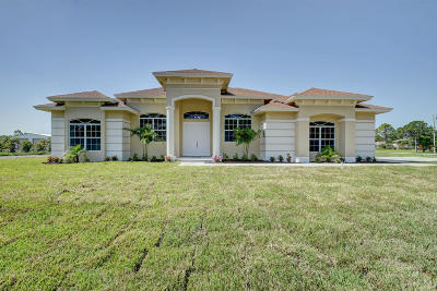 Loxahatchee Single Family Home For Sale: 14472 86th Road
