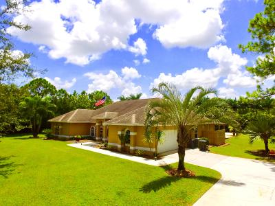 West Palm Beach Single Family Home For Sale: 15592 100th Lane