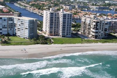 Highland Beach Condo For Sale: 3015 S Ocean Boulevard #901