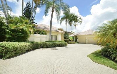 Boca Raton Single Family Home For Sale: 7279 Valencia Drive