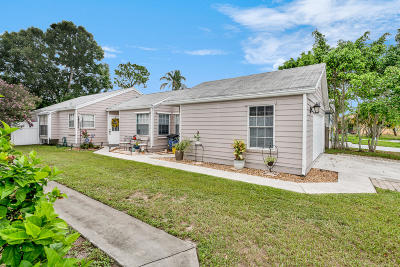 West Palm Beach Single Family Home Contingent: 1420 Blue Clover Lane