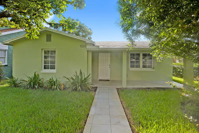 West Palm Beach Single Family Home For Sale: 1320 Florida Avenue