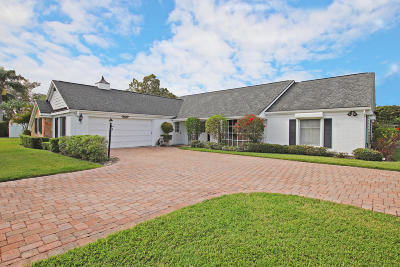 Tequesta Single Family Home For Sale: 115 Turtle Creek Drive