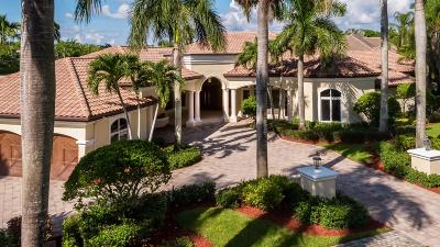 Boca Raton Single Family Home For Sale: 17914 Lake Estates Drive
