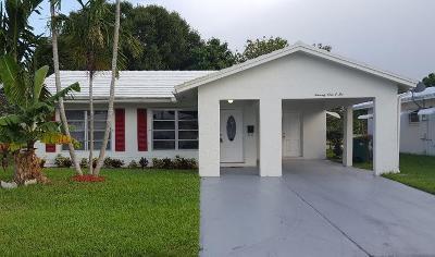 Tamarac Single Family Home For Sale: 7102 NW 70th Street