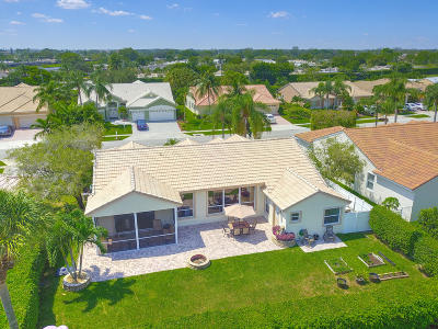Boca Raton Single Family Home For Sale: 9308 Lake Serena Drive