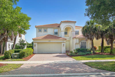 Wellington Single Family Home For Sale: 9021 Alexandra Circle