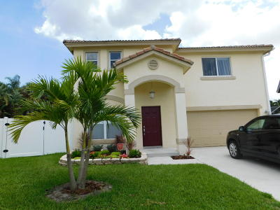 boynton beach Single Family Home For Sale: 1044 Fosters Mill Road
