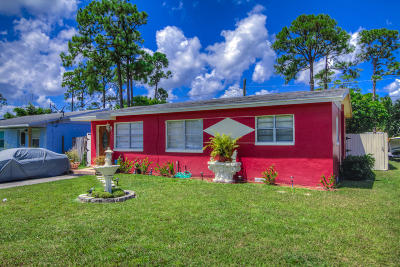 West Palm Beach Single Family Home For Sale: 5923 Orange Road
