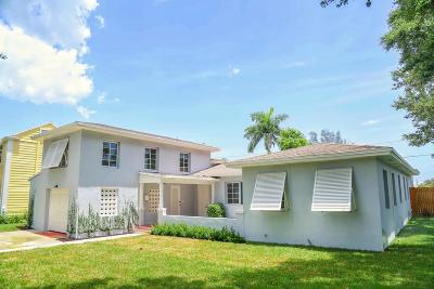 Lake Worth Single Family Home For Sale: 210 Lakeside Drive