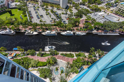 Fort Lauderdale Condo For Sale: 333 E Las Olas Way #2304