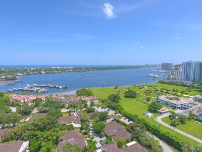 North Palm Beach Single Family Home Contingent: 11473 Riverwood Place #39-A