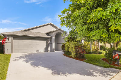 Greenacres Single Family Home For Sale: 1321 Fishers Place