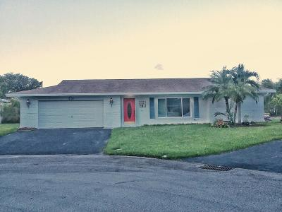 Tamarac Single Family Home For Sale: 9103 NW 67th Court