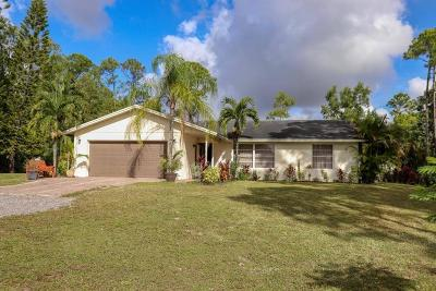 West Palm Beach Single Family Home For Sale: 11919 52nd Road