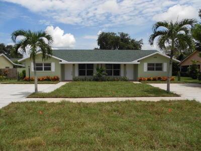 Wellington Single Family Home For Sale: 1376 Riverside Circle
