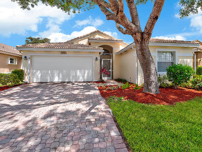 Boynton Beach Single Family Home For Sale: 6865 Camille Street