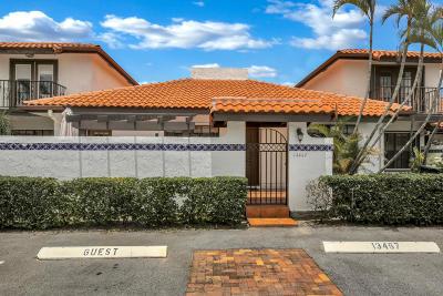 Wellington Townhouse For Sale: 13467 Fountain View Boulevard