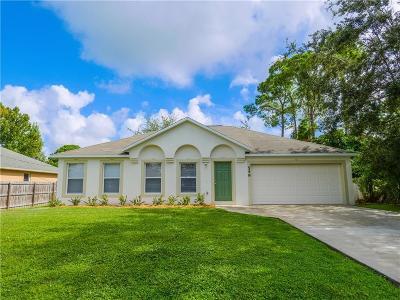 Port Saint Lucie Single Family Home For Sale: 549 NW Placid Avenue
