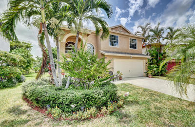 Boynton Beach Single Family Home For Sale: 6276 Lansdowne Circle
