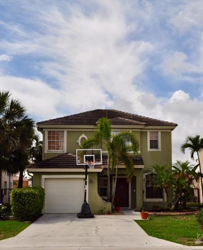 Lake Worth Single Family Home For Sale: 6090 Savannah Way