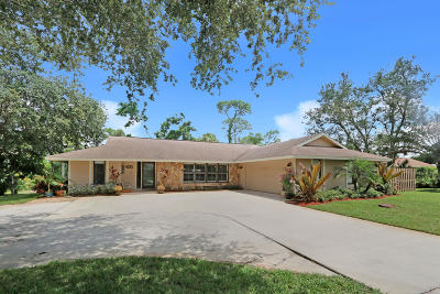 Palm City Single Family Home Contingent: 773 SW River Court
