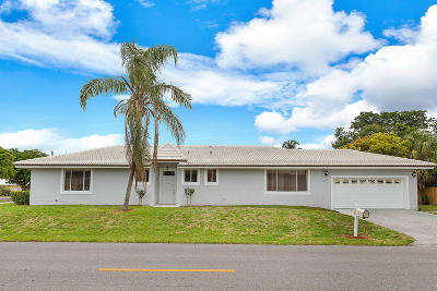 Boca Raton Single Family Home For Sale: 6105 NE 7th Avenue