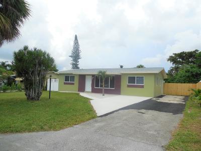west palm Single Family Home For Sale: 4669 Sutton Terrace S