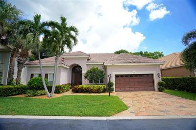 Palm Beach Gardens Single Family Home For Sale: 150 Oakwood Lane