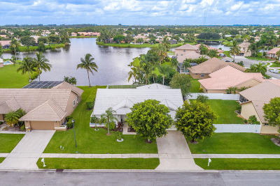 Lake Worth Single Family Home For Sale: 6623 Blue Bay Circle