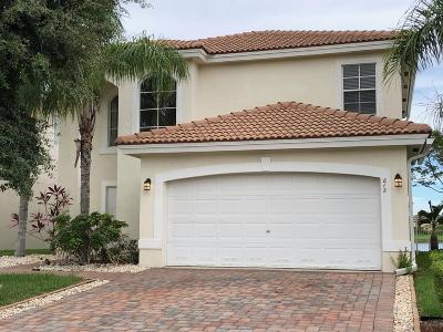 West Palm Beach Single Family Home For Sale: 812 Perdido Heights Drive