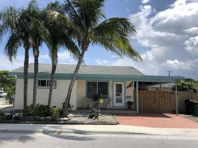 Lake Worth Single Family Home For Sale: 601 7th Avenue