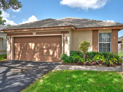 Davie Single Family Home Contingent: 2703 Millwood Court