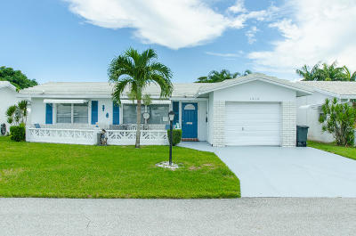 boynton beach Single Family Home For Sale: 1212 SW 21st Avenue