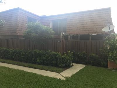 Greenacres FL Townhouse For Sale: $191,000