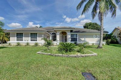 Wellington Single Family Home For Sale: 13670 Callington Drive