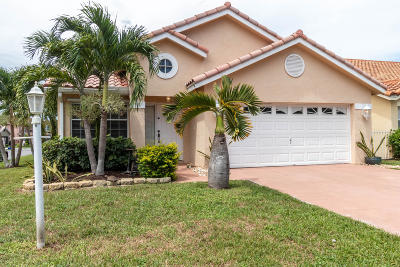 Boca Raton Single Family Home For Sale: 11237 Jasmine Hill Circle