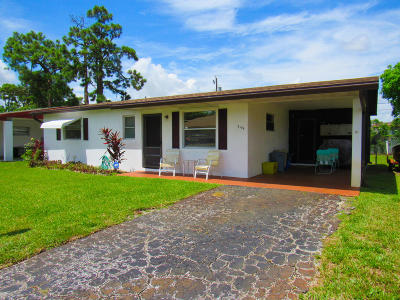 West Palm Beach Single Family Home Contingent: 2119 W Bond Drive
