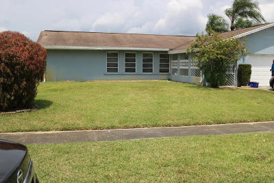 West Palm Beach FL Single Family Home For Sale: $249,900