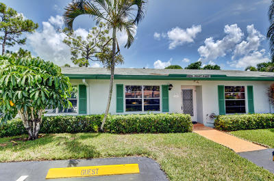 Delray Beach Single Family Home For Sale: 5221 Privet Place #C