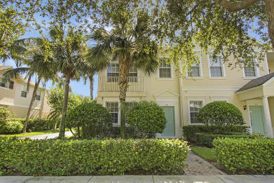 Jupiter Townhouse For Sale: 171 E Bay Cedar Circle